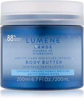 Lumene Lähde [Source of Hydratation] manteiga hidratante intensiva para corpo